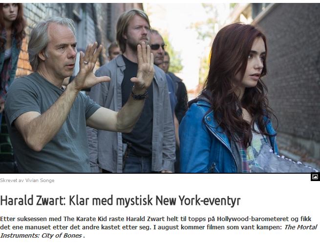 Harald swart klart med mystisk new york eventyr
