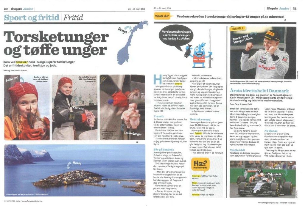 Aftenposten Junior - Cecilie Skjerdal
