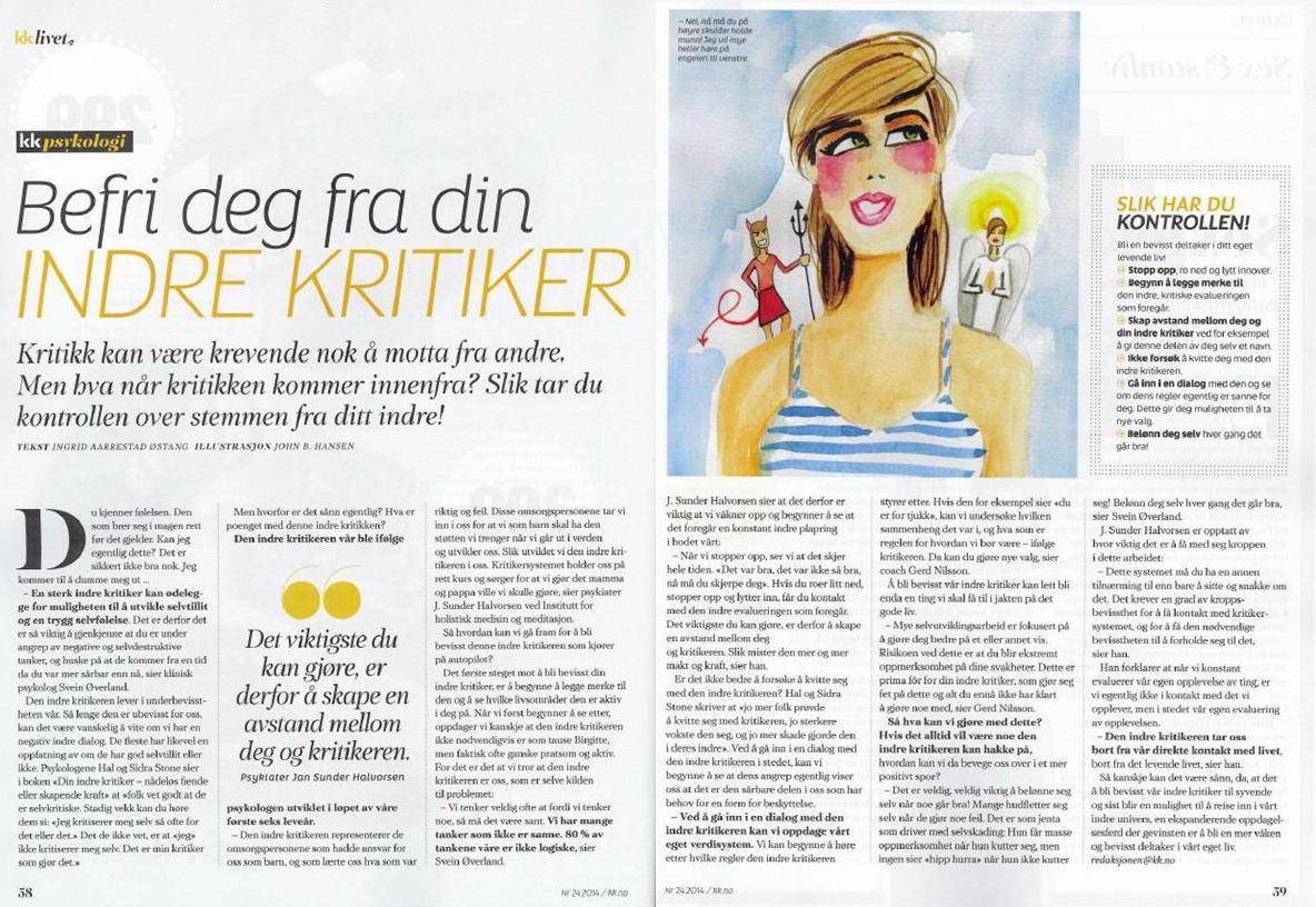 KK - Ingrid Østang - Indre kritiker