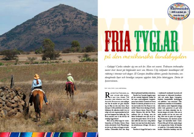 Lucky Rider Elin Sætersdal - Fria tyglar i Mexico