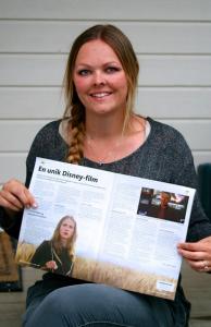 - Selv i en tøff bransje der det er mange som ønsker å selge inn artikler til samme magasin som en selv finnes det flust av fantastiske mennesker som er villig til å støtte deg og dele sine erfaringer. Vivian er en av dem. Hun stråler som mentor, sier Linn Stokke.